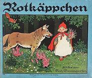 Rotkaeppchen Fritz Baumgarten original