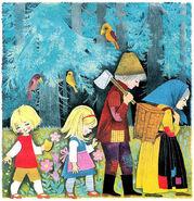 Haensel und Gretel Felicitas Kuhn pappbilderbuch 01