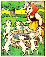 Wolf und die sieben Isa Salomon 1989 bummi 14