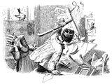 Der Hund und der Sperling (Illustrationen)