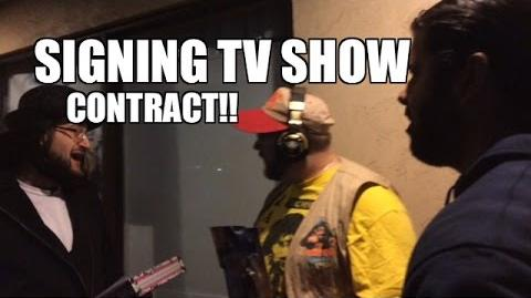 Grims Toy Show Episode 1058- TV Contract SIGNING! WWE Mattel Figure collections funny pose pics!