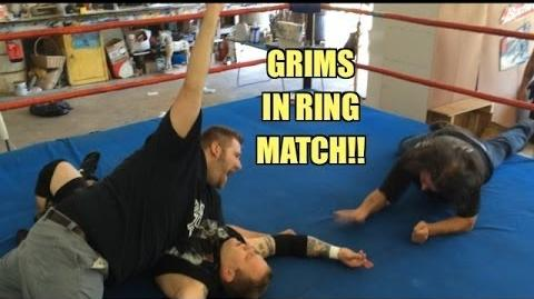 Grim's Toy Show ep 897- REAL Ring Wrestling Match!! WWE Figure collections! Mattel Toys!
