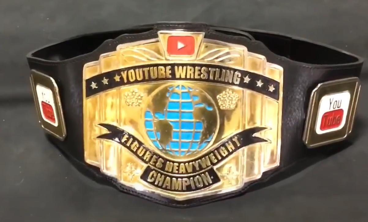 GTS YouTube Wrestling Figures Heavyweight Championship