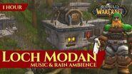 Vanilla Loch Modan - Music & Rain Ambience (1 hour, 4K, World of Warcraft Classic)