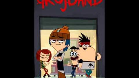 Grojband - Song 36 Bring Her Down From The Episode 19 (Original Version) (HQ)