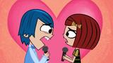 Corey and Laney singing
