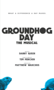 Groundhog Day Broadway first poster