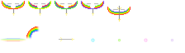Bow of the Rainbow Sprites