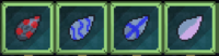 Glitched chemical seeds