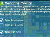 Xenonite Crystal