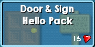 Door & Sign Hello Pack