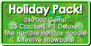 Holiday Pack 2018