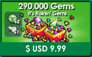 Raining Gems-New