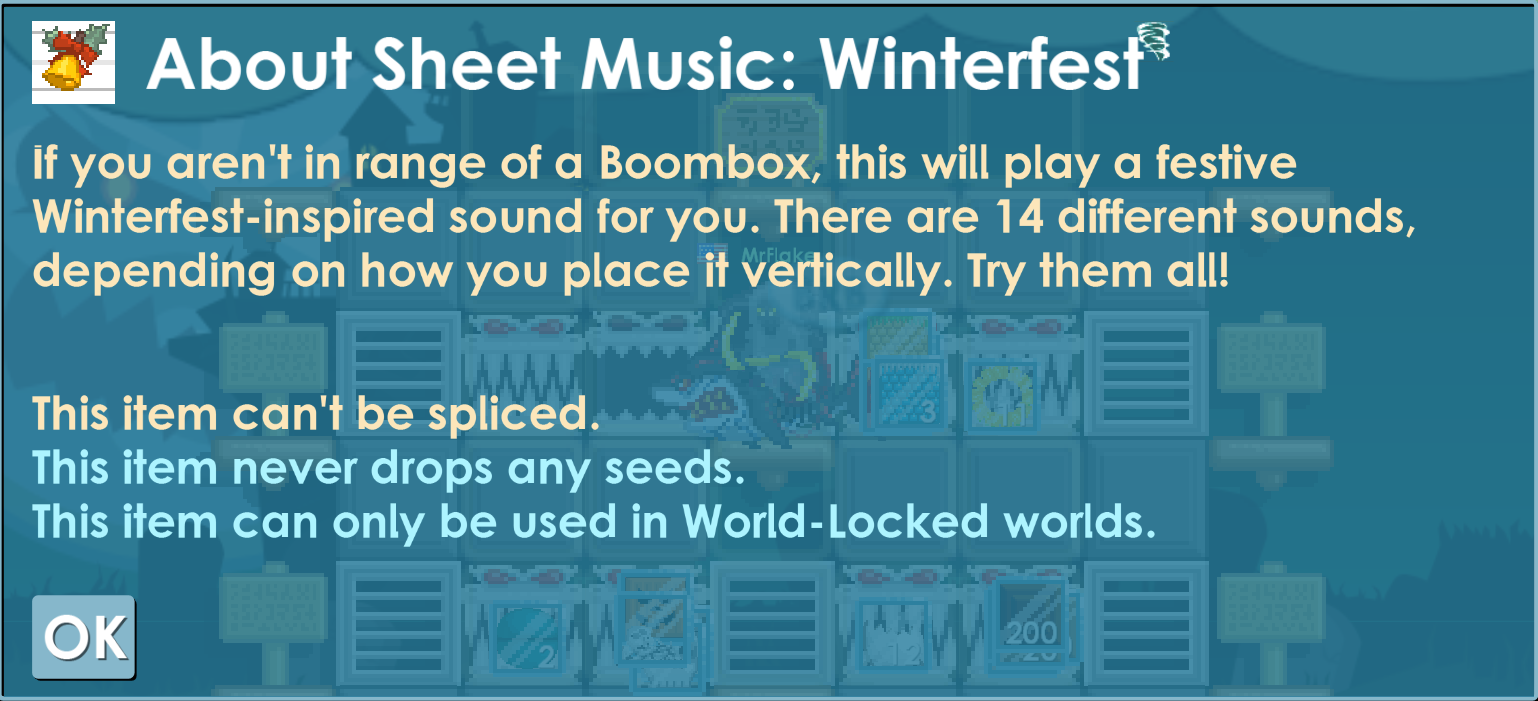Sheet Music: Winterfest