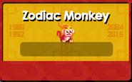 Zodiac Year of the Monkey