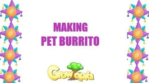 Growtopia- Making Pet Burrito