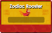 Zodiac Year of the Rooster