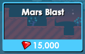 Mars Blast In Store