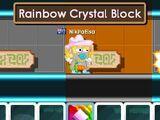 Rainbow Crystal Block