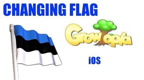 Growtopia- Changing flag I iPad, iPhone, iPod