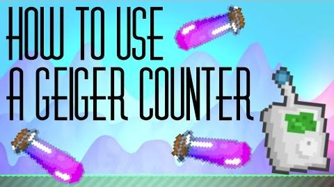 How To Use A Geiger Counter - GROWTOPIA