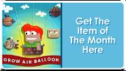 Feature Button - Grow Air Balloon