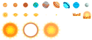Crown of the Cosmos Sprites