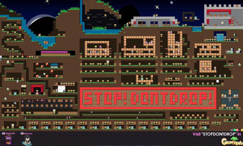 STOPDONTDROP