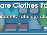 Rare Clothes Pack