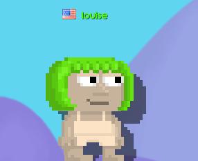 Green Pageboy