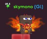 Player wearing Phoenix Armor