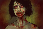 Zombie doodle by belldandy105