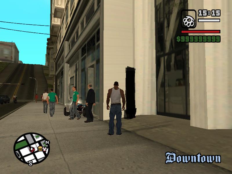 Downtown Glitch