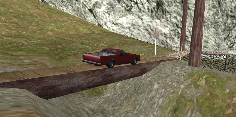 Mount Chiliad Ghost Car