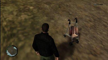 Haunted Baby Stroller