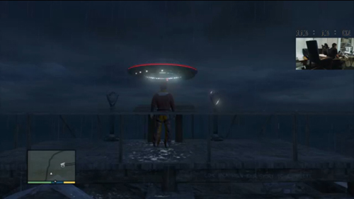 UFO at Mount Chiliad