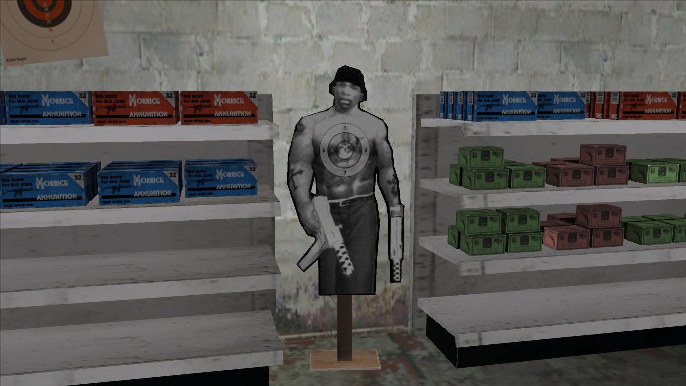 CJ Shaped Target