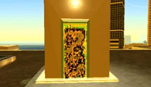 Glitched Door