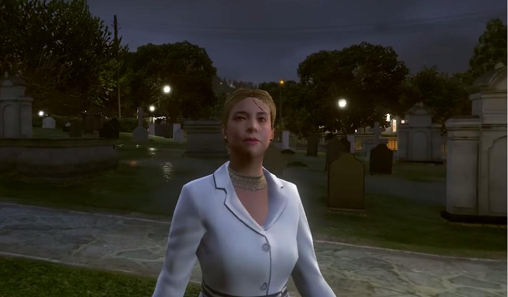 Vinewood Cemetery Ghosts