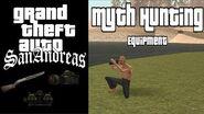 GTA SA - Myth Hunting Equipment + Tips