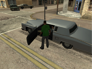 Reversing Accident