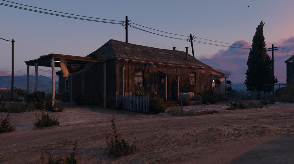 The Lost MC Clubhouse