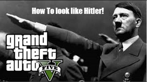 GTA_5_Online-_How_to_look_like_Adolf_Hitler!