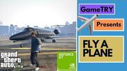GTA5 - Flying an Adventurous plane WITH An Enjoyable Ride Gameplay PC 2019