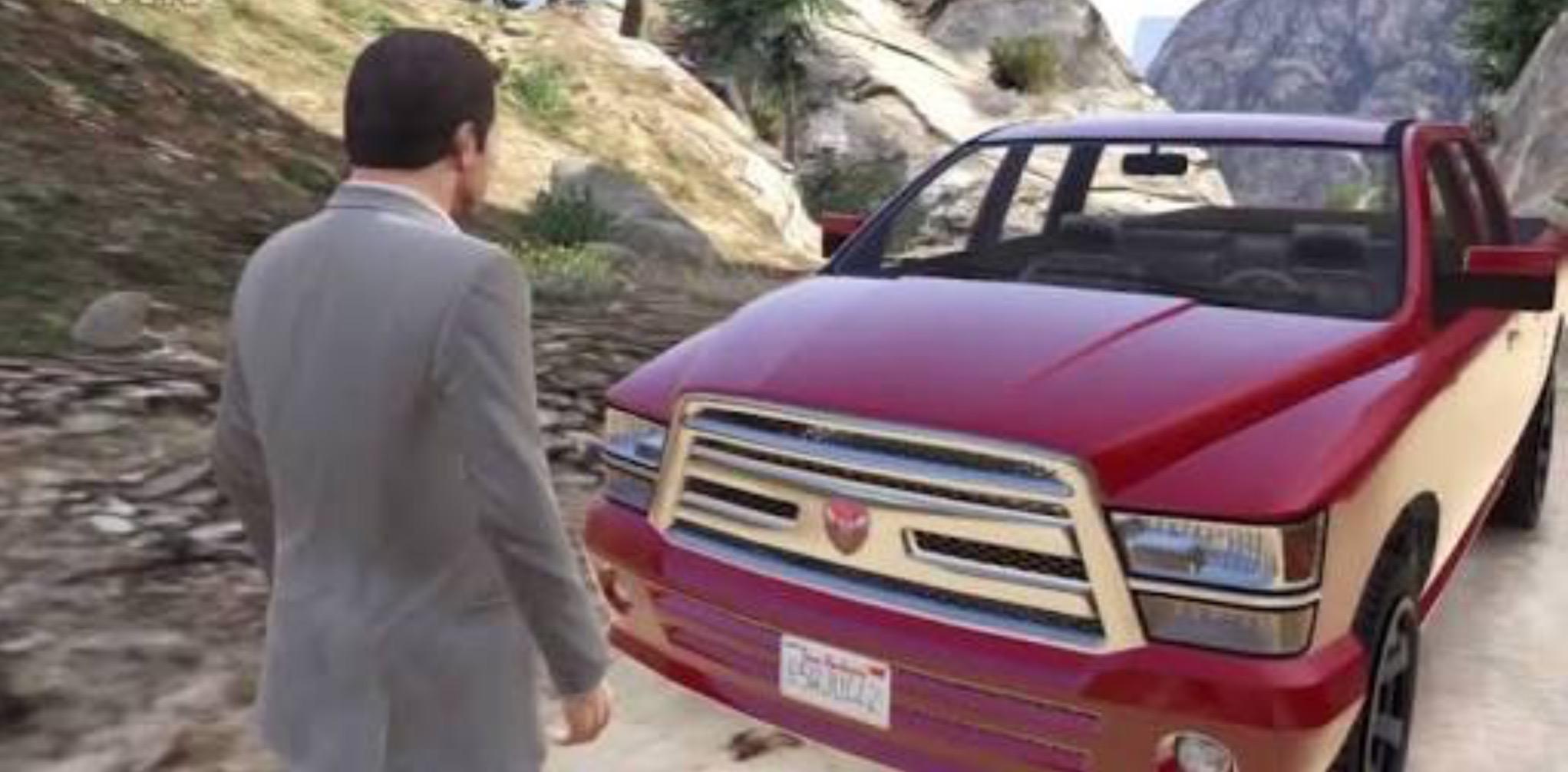 Red Truck (GTA V)