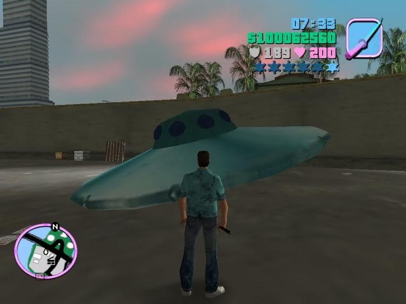 UFOs (GTA Vice City)
