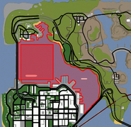 San Fierro Bay Map