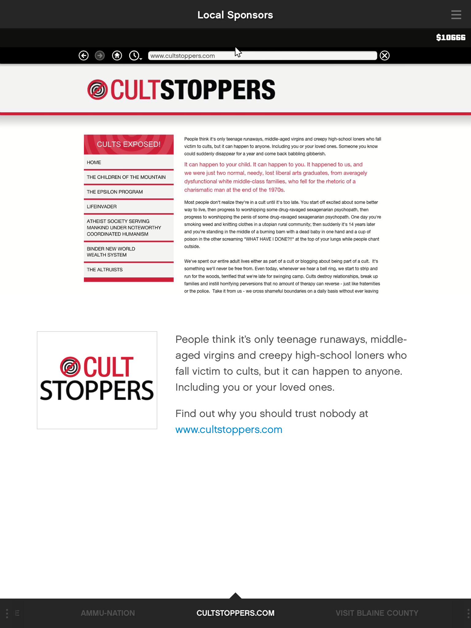 Cultstoppers.com