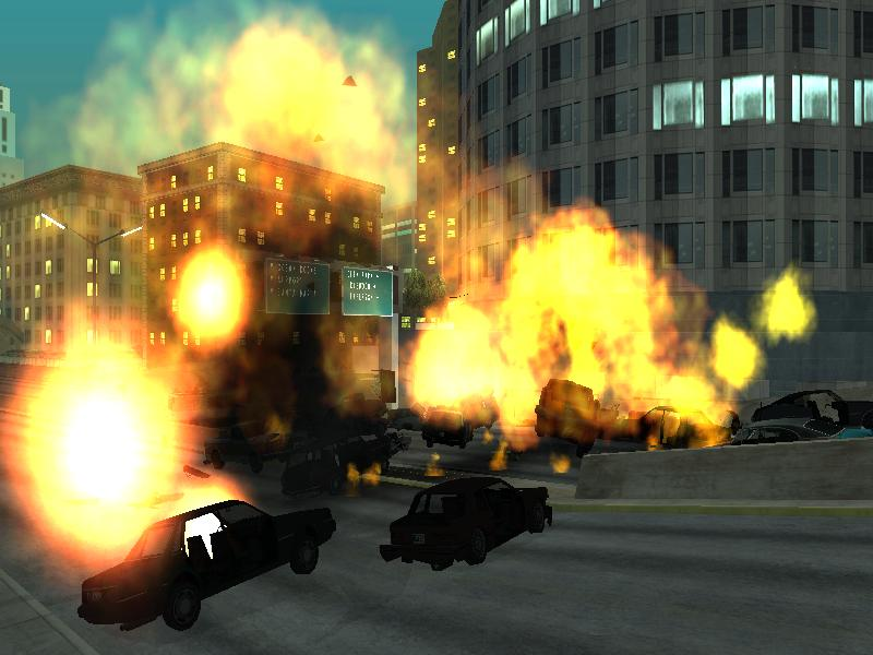 Exploding Vehicles
