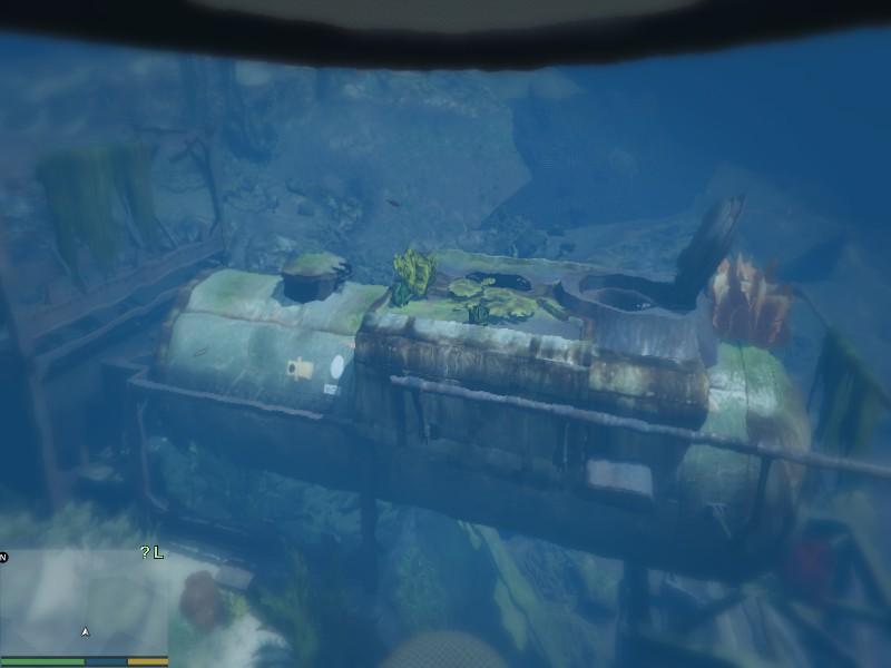 Sunken Submersible